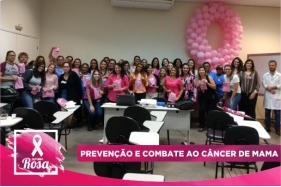 Colaboradoras participam de Workshop do Outubro Rosa